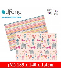 Dfang Double Film Premium PVC Mat - Pinky Friends (Medium 1.4cm)​