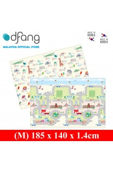 Dfang Double Film Premium PVC Mat - Playing Car (Medium 1.4cm)