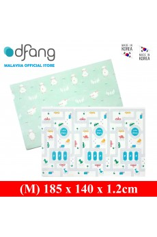 Dfang Double Film Premium PVC Mat - Animal Road+Rompish Lamb (Medium 1.2cm)