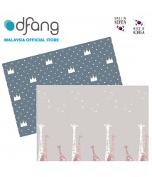 Dfang Double Film Premium PVC Mat - Savanna + Crown (Large 1.6cm)