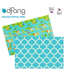 Dfang Double Film Premium PVC Mat - City Road + HoneyComb (Medium 1.0cm)