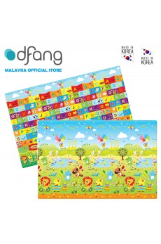 Dfang Double Film Premium PVC Mat - Funimal (Medium 1.4cm)