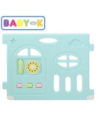 BABY-K Airplane Safety Play Yard Activity Panel